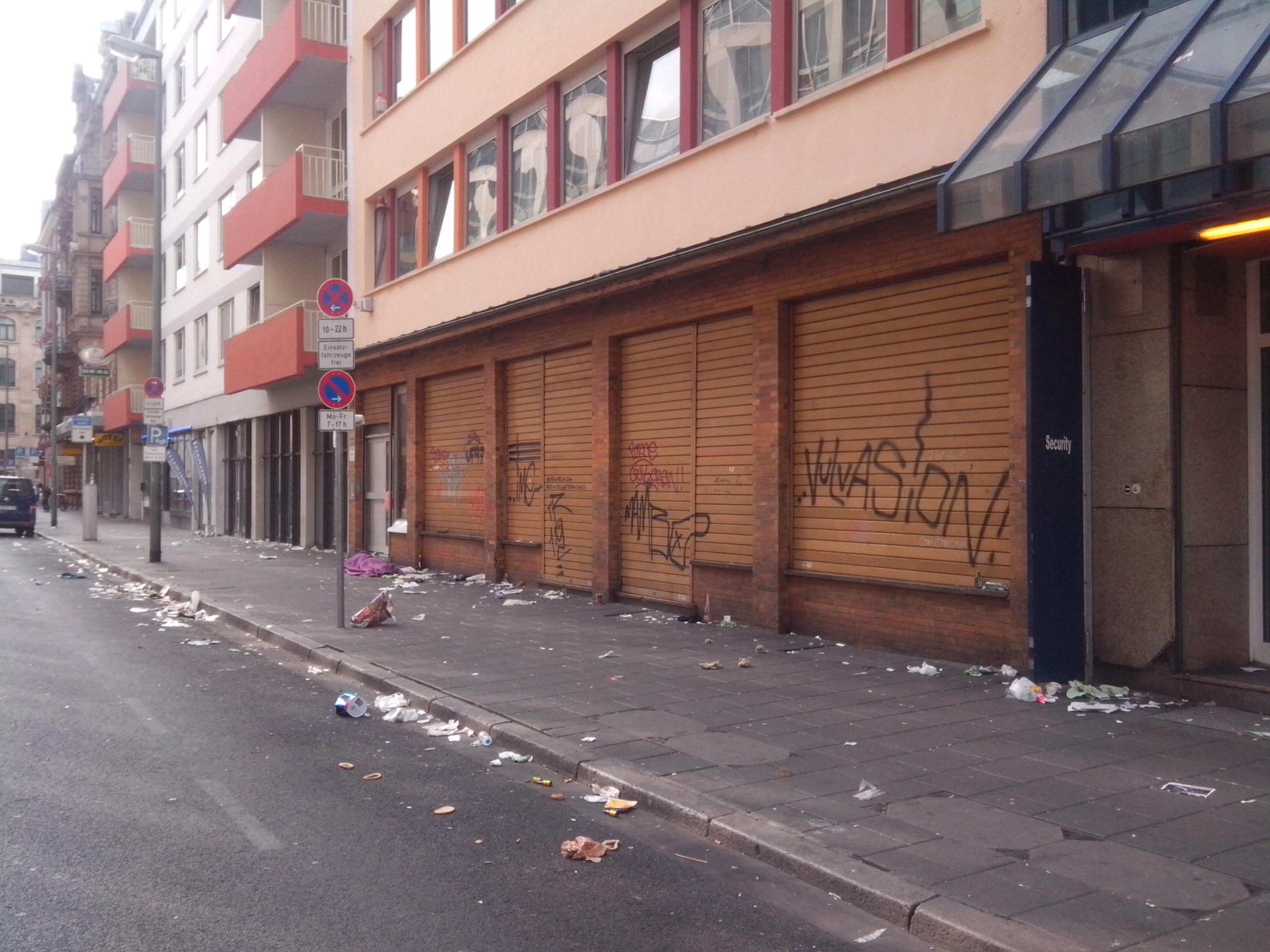 Morgen Frankfurt sonntag morgen im frankfurter bahnhofsviertel stuff