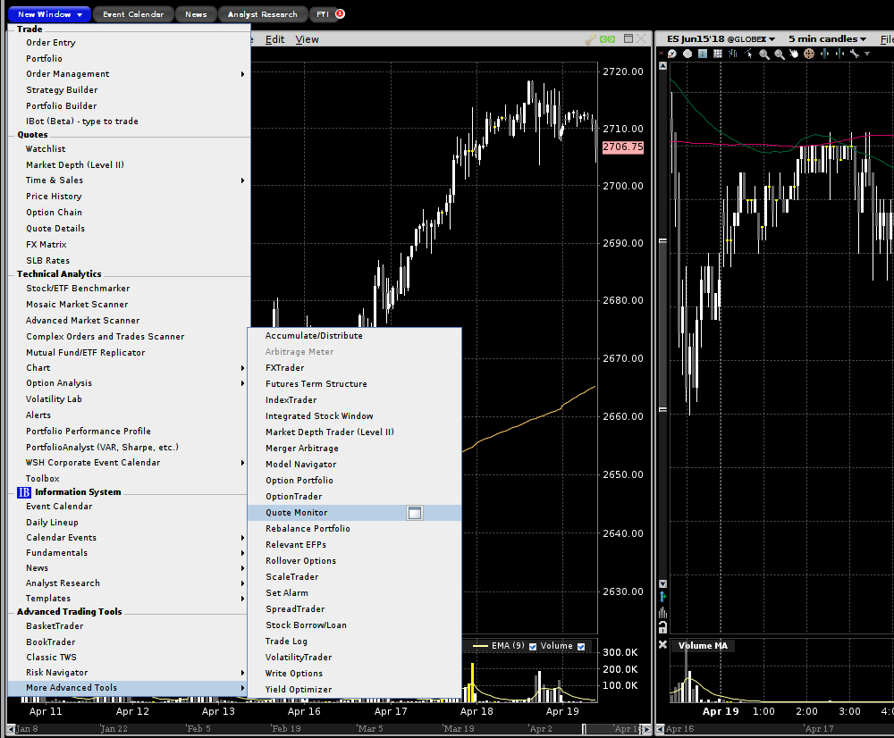 How To Add A List Of Future Spreads To The Tws Interactive Brokers