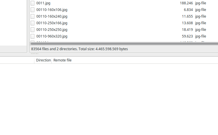 More than 9998 Files in a Folder FTP