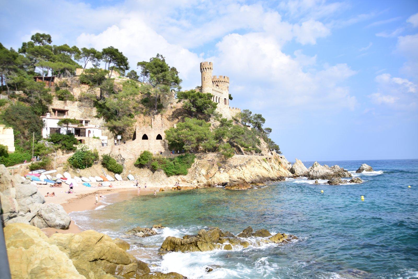 Blick auf Castell d'en Playa