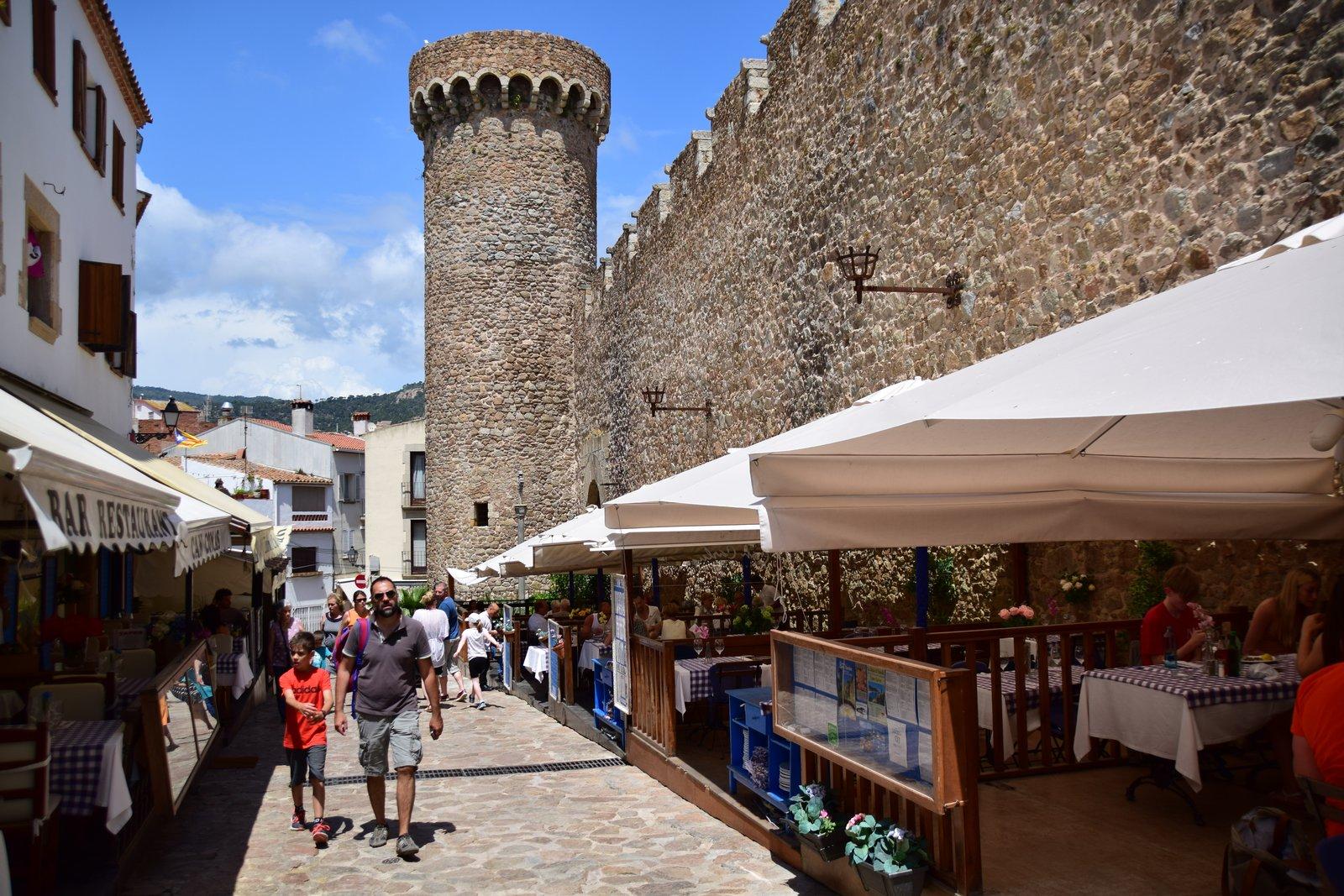 Castell de Tossa de Mar