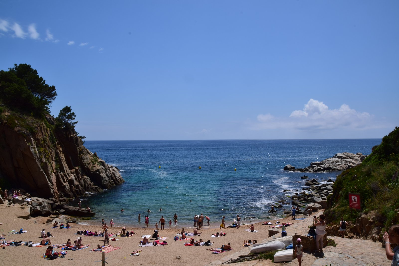 Strandbucht in Tossa de Mar