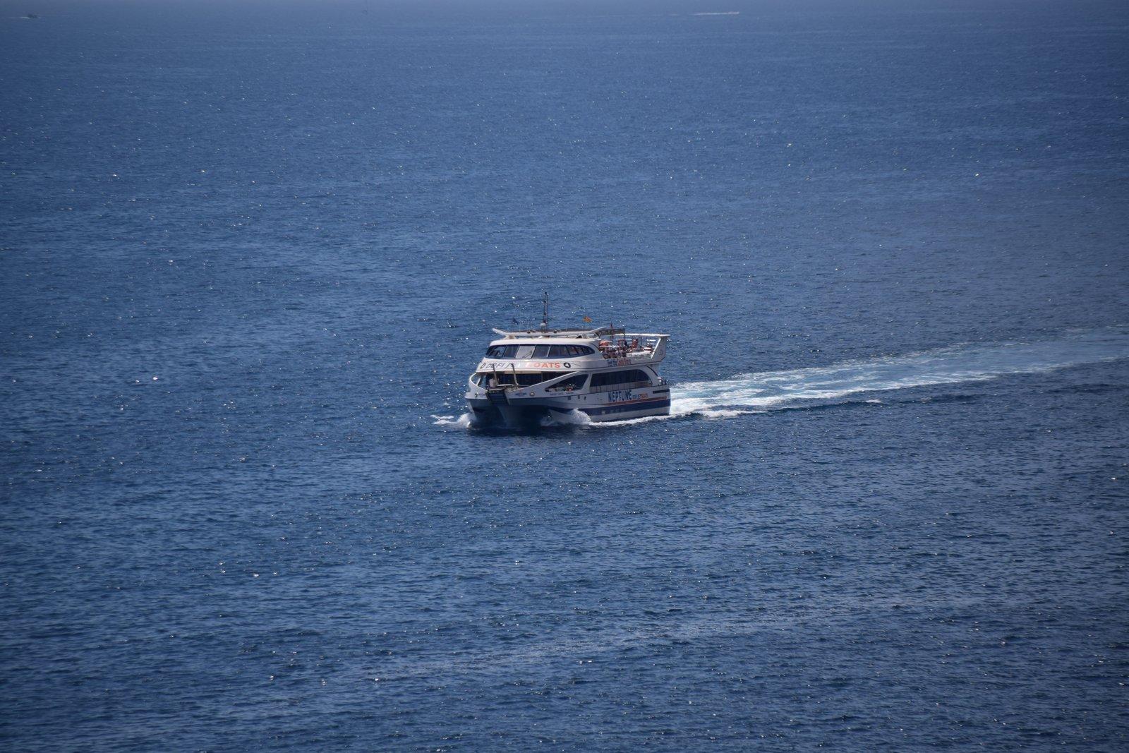 Fähre nach Tossa de Mar
