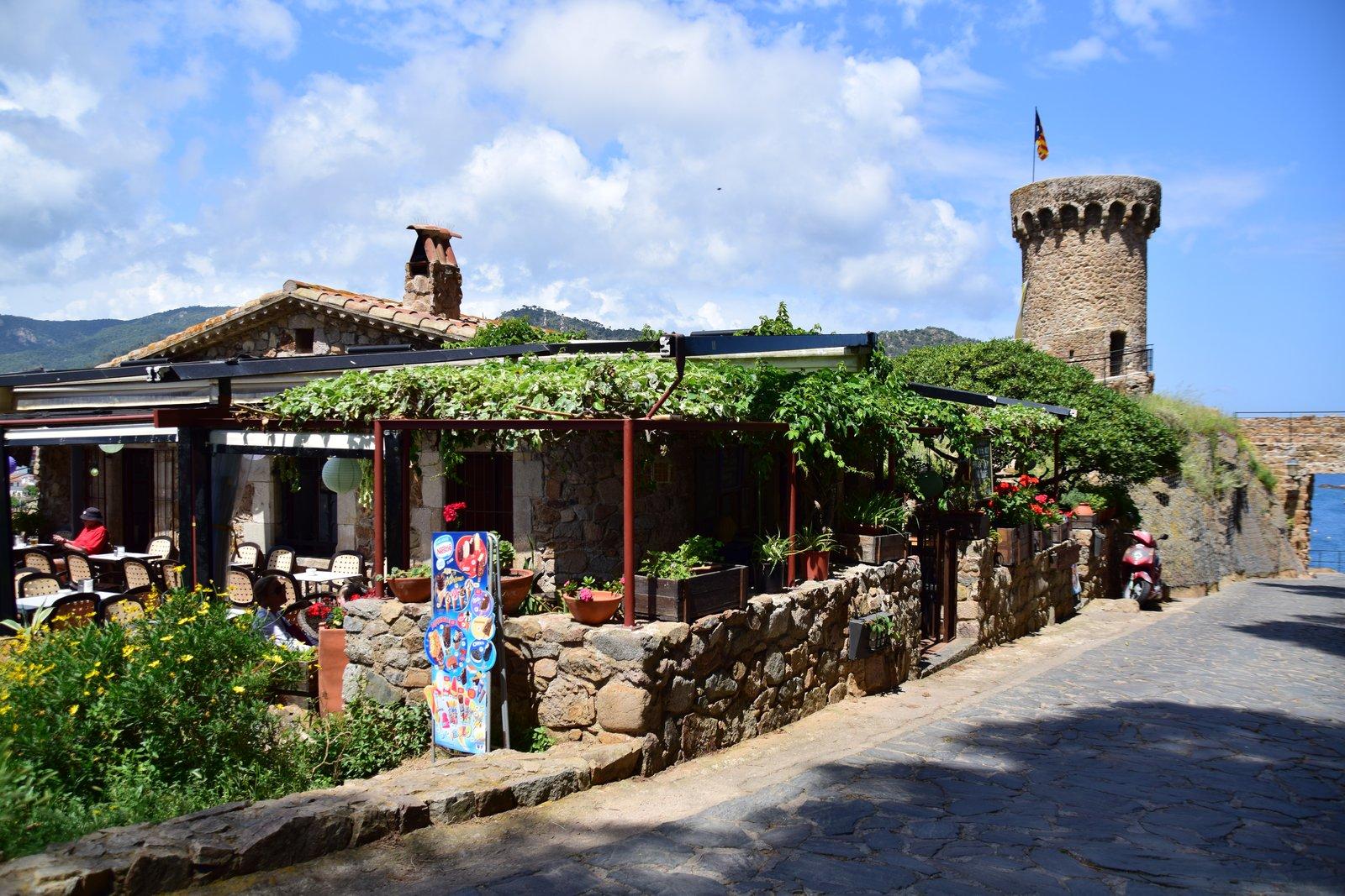 Restaurant am Castell de Tossa de Mar