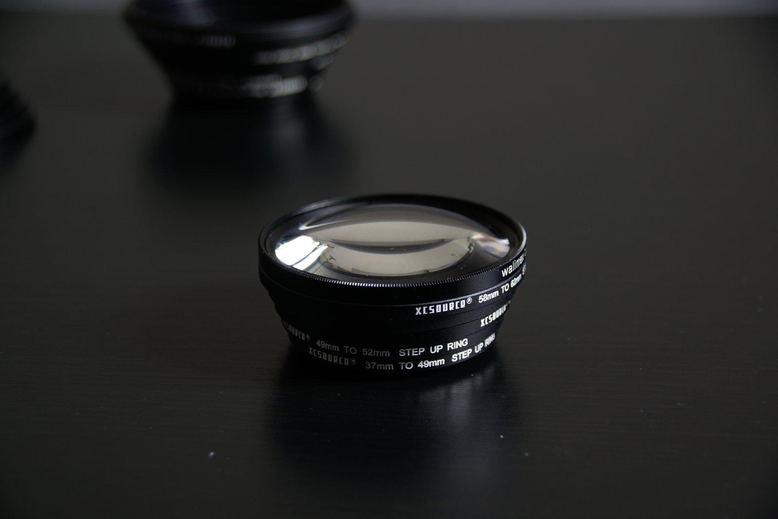 Erfahrungsbericht 18 Stück Filter-Ring Objektiv Adapter-Set 37 49 52 55 58 62 67 72 77 82mm Step Up Step Down 5