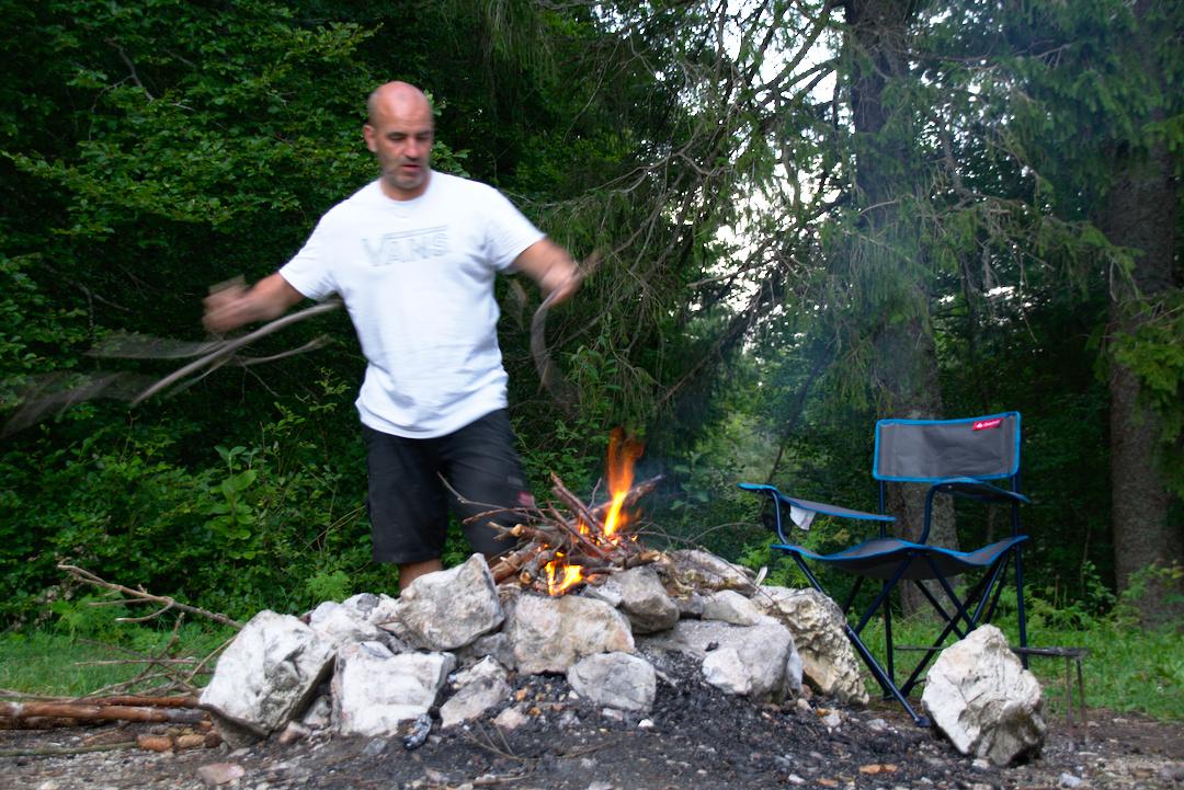 3 Wochen Camping Urlaub in Frankreich, Italien und der Schweiz. 8