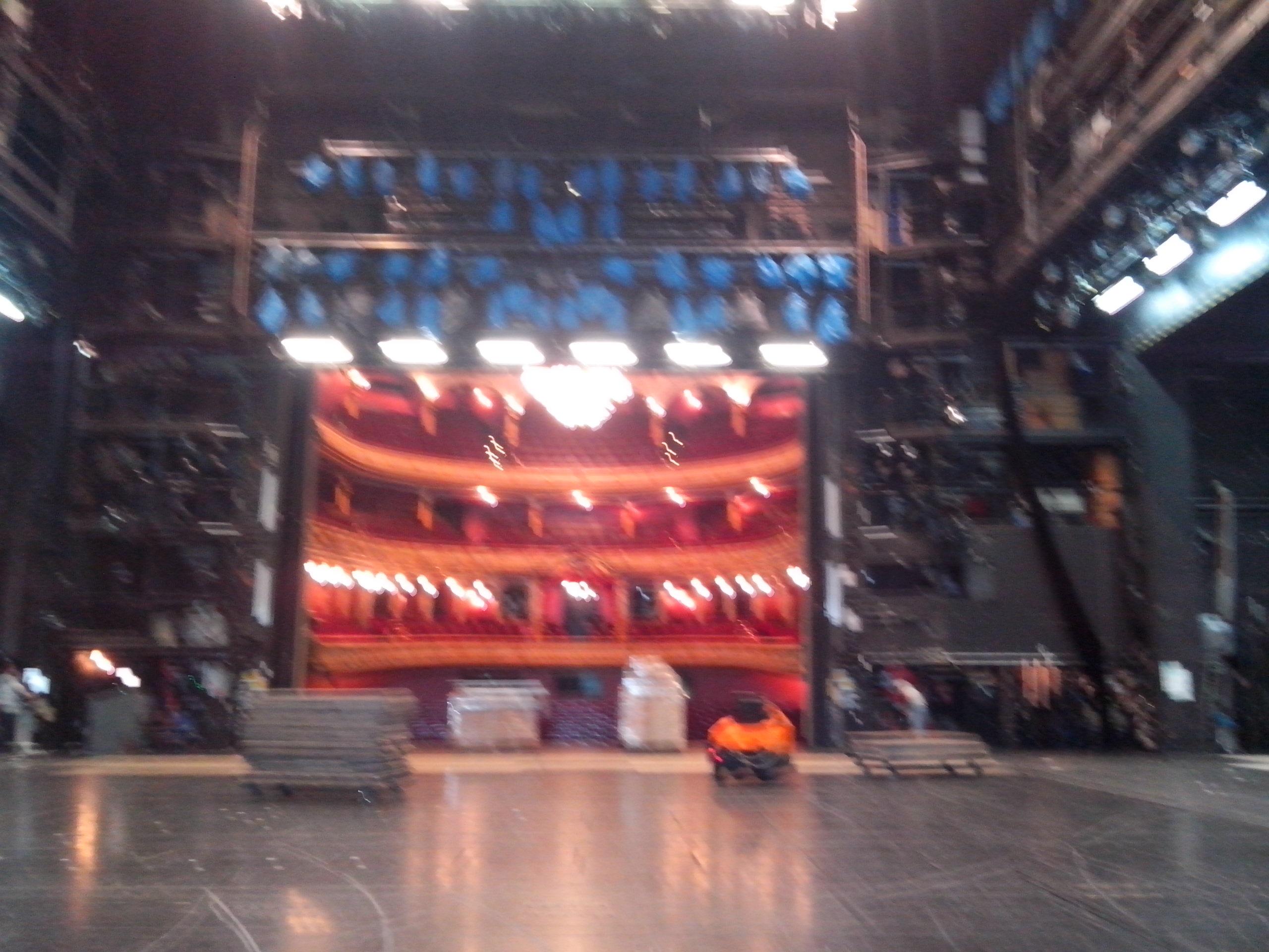 Arbeit als Stagehand