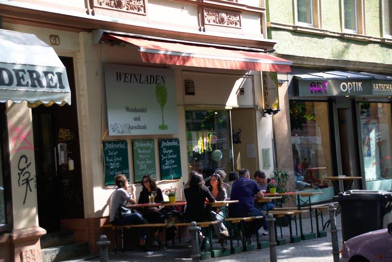 Wine shop on Berger Straße 64