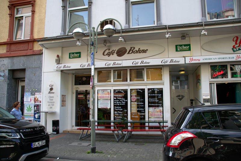 Cafe Bohne Berger Straße