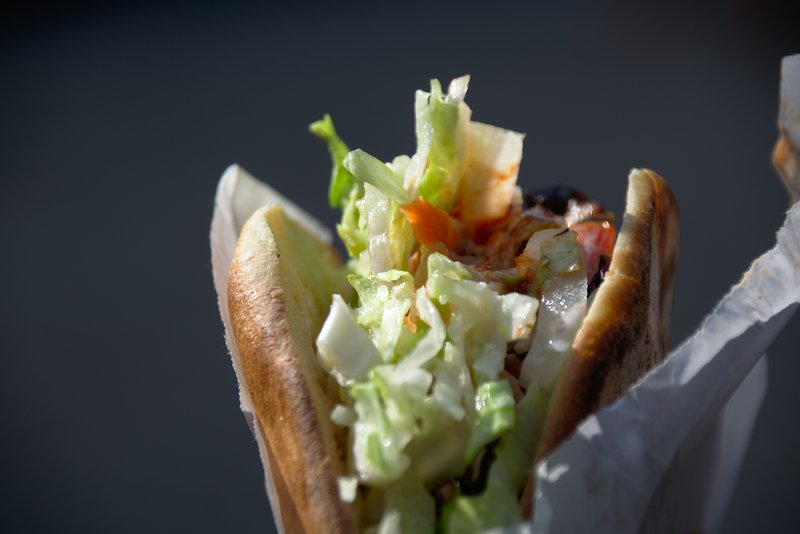 Falafel Sandwich Nordend Kebap House
