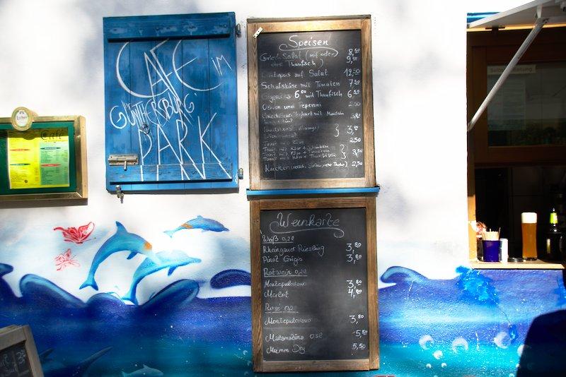 Café im Günthersburgpark