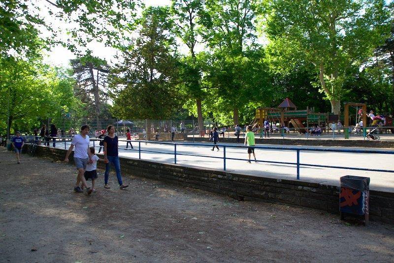 Playground at the Café im Günthersburg