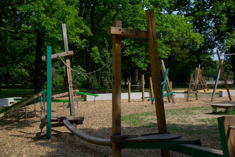 Neuer Spielplatz im Ostpark Frankfurt