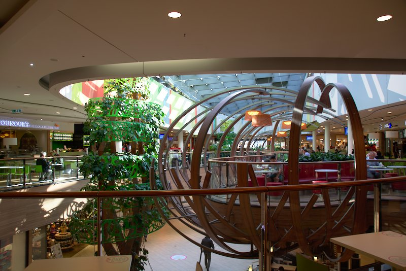View of the Food Court