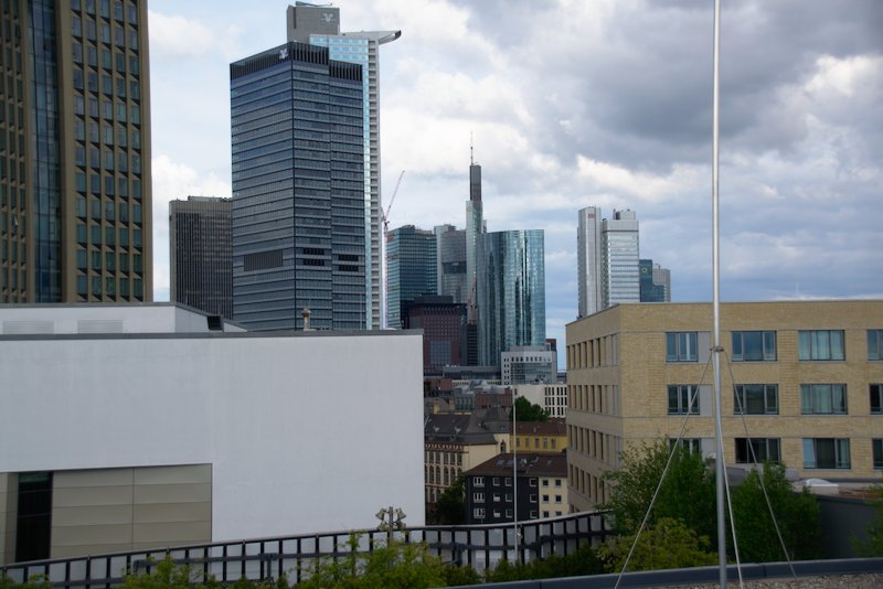 View of the Frankfurt Skyline