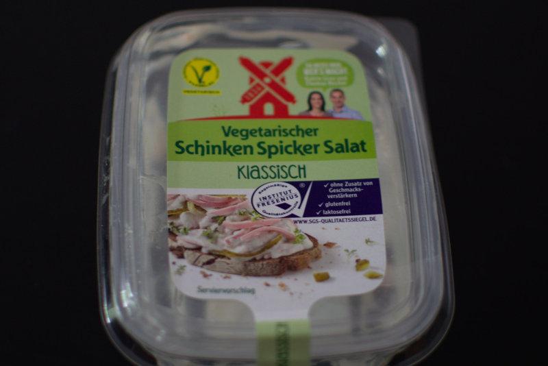 Vegetarischer Schinken Spicker Salat von Rügenwalder Mühle