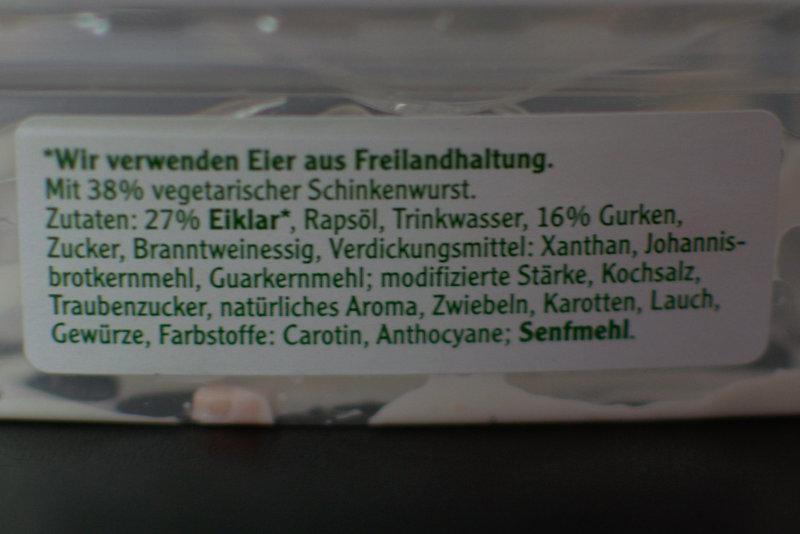 Zutaten Schinken Spicker Salat von Rügenwalder Mühle