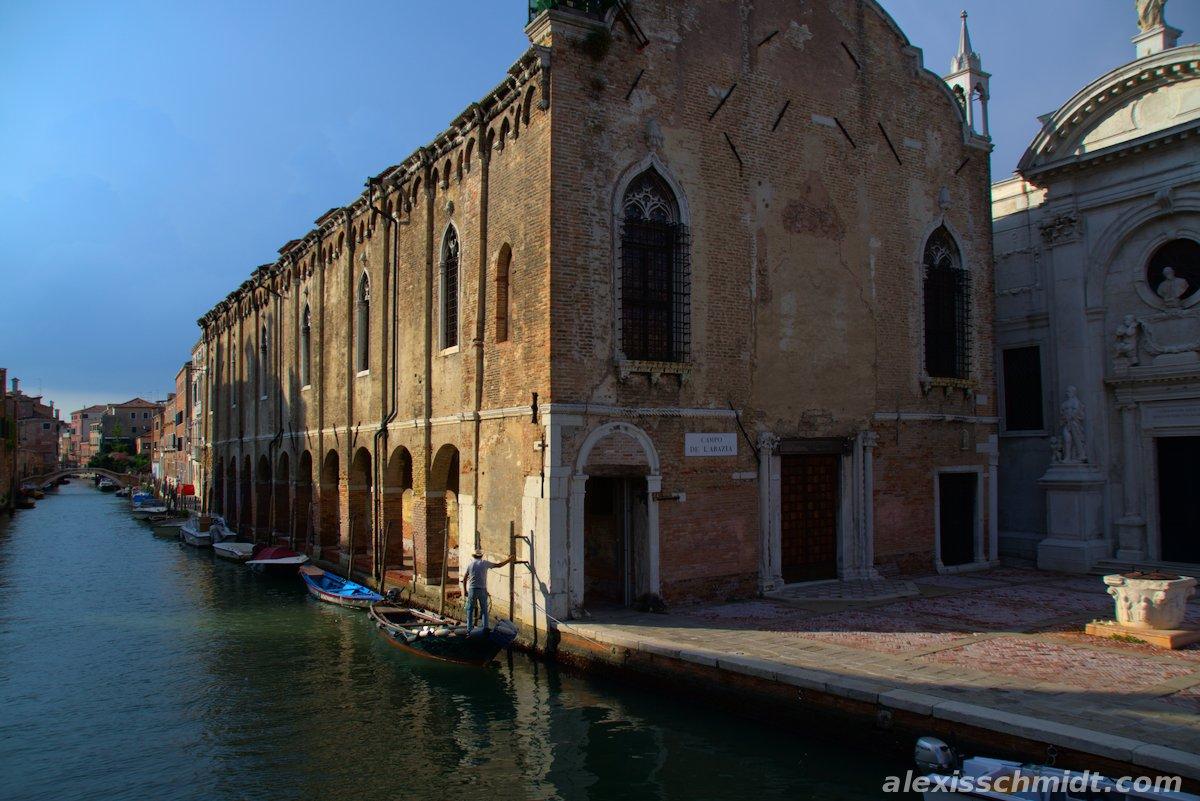 Campo de L'Abazia Venice, Italy