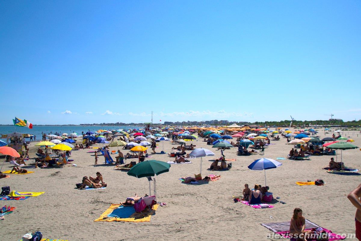 Chioggia Beach near Venice, Italy