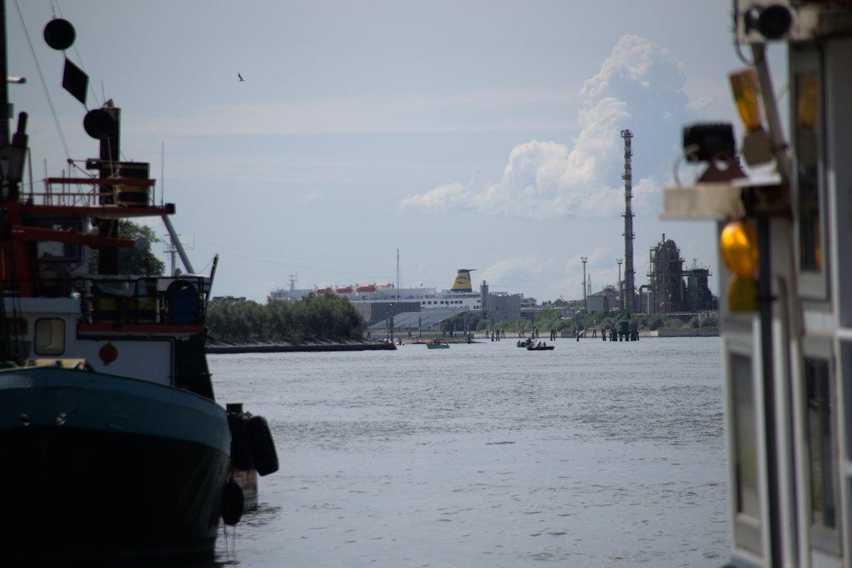 Cruise Ship near Venice