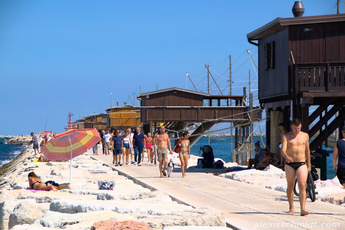 Diga Sottomarina Venice, Italy