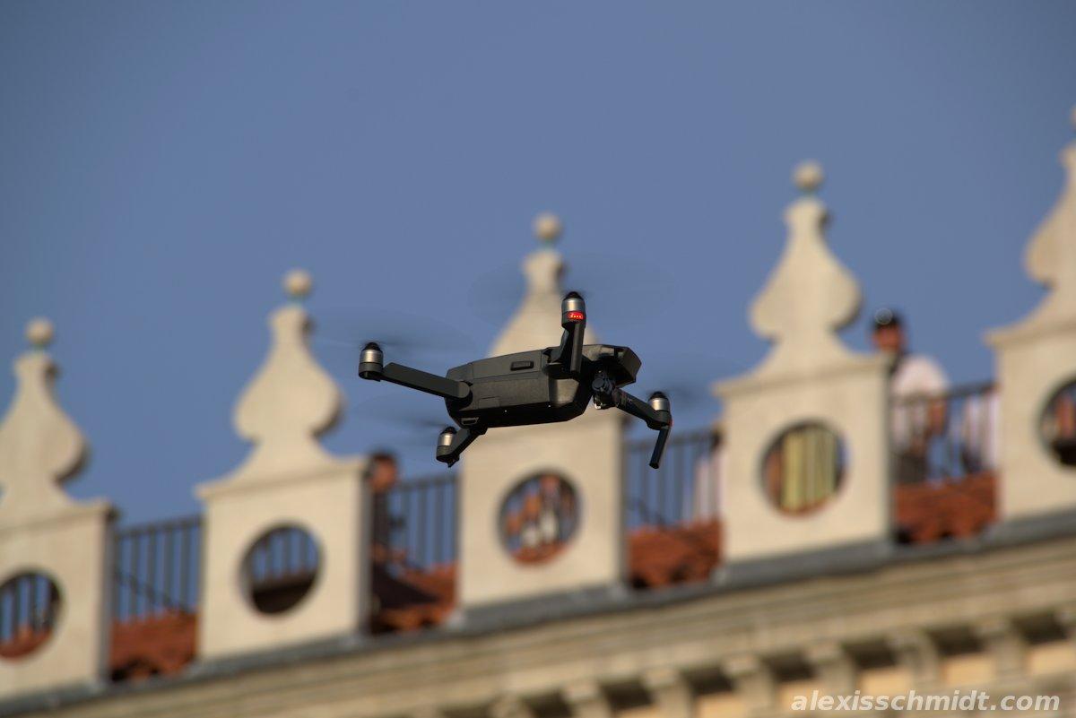 Drone over Venice, Italy