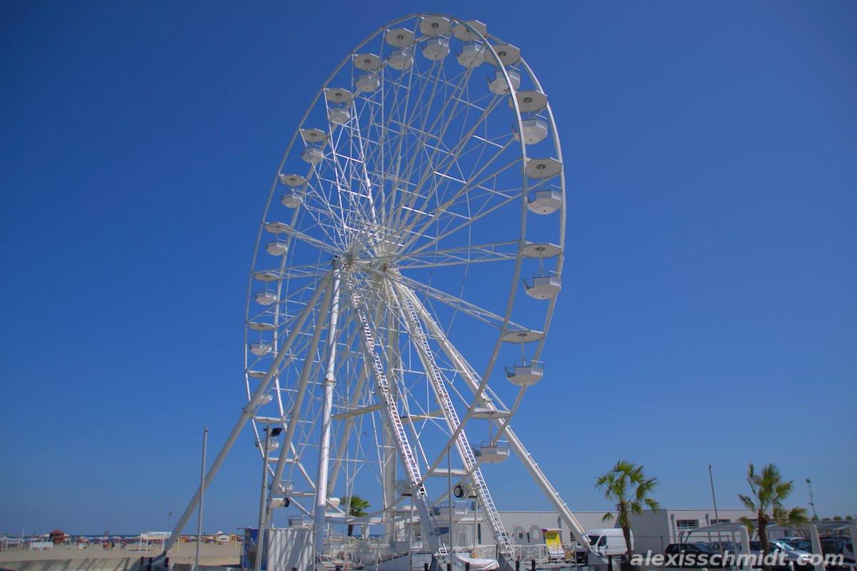 Ferris Wheel in Chioggia Venice, Italy
