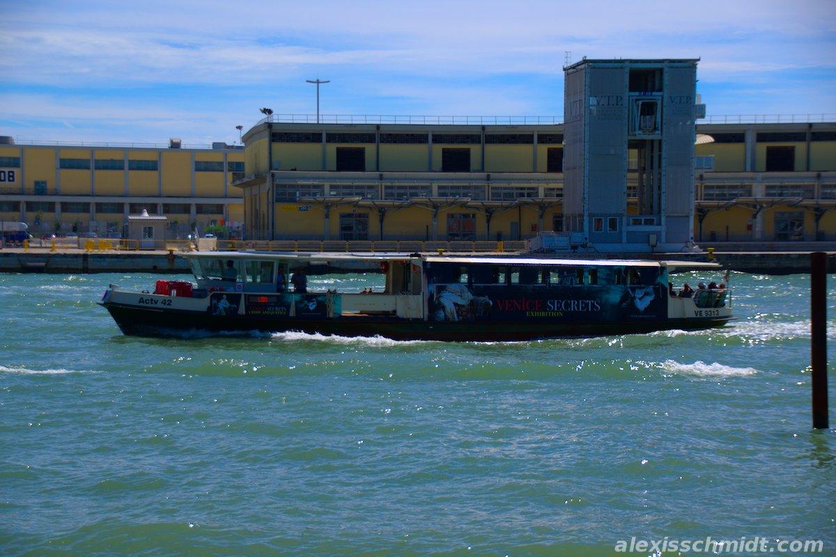 Passenger Boat in Venice, Italy