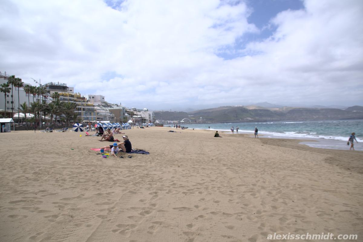 Playa Las Canteras Las Palmas Gran Canaria