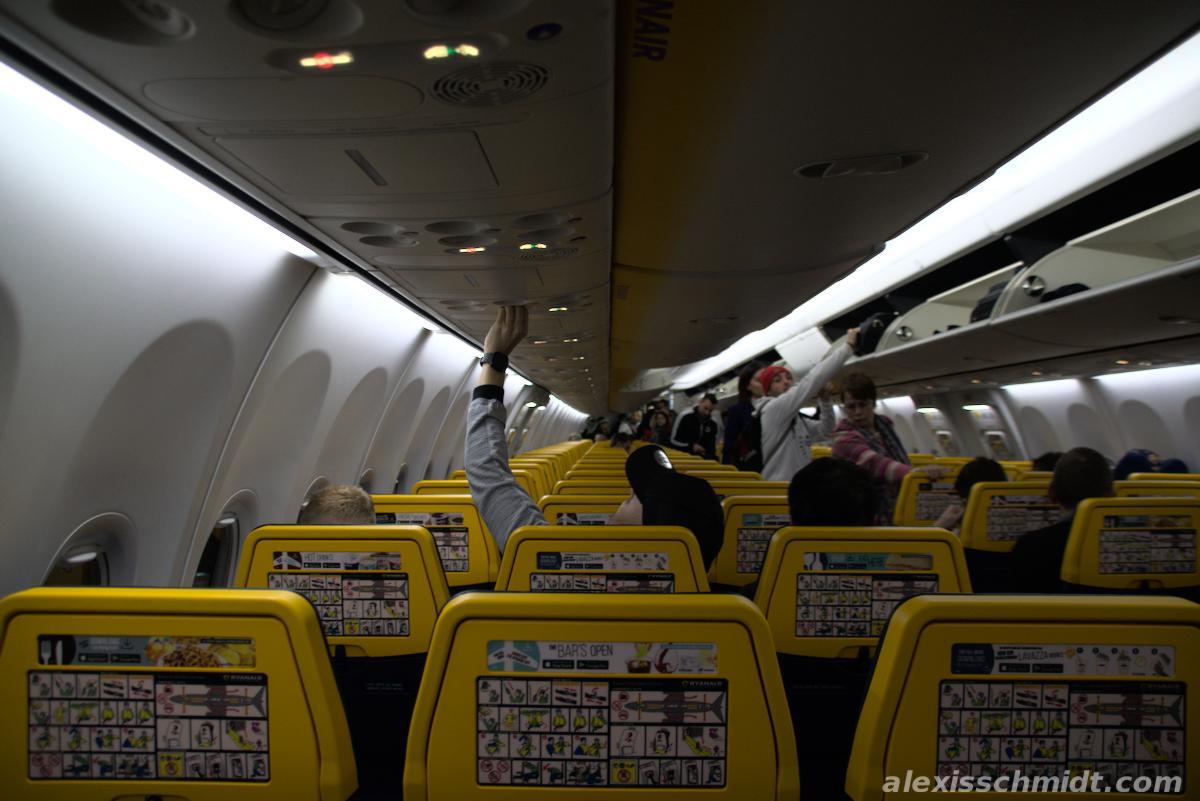 Flight to Las Palmas with Ryan Air