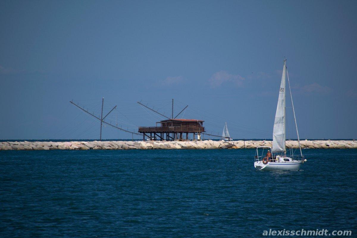 Sailing Boat in Chioggia Venice, Italy
