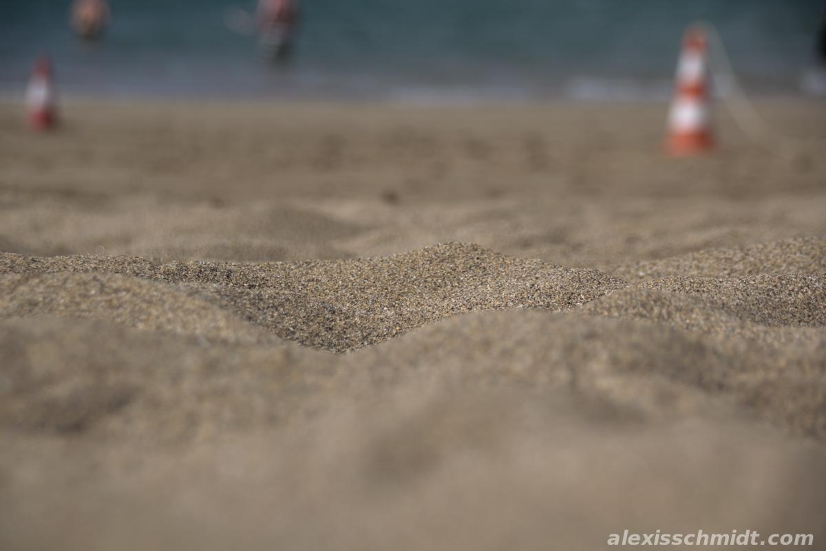 Sand in Las Canteras