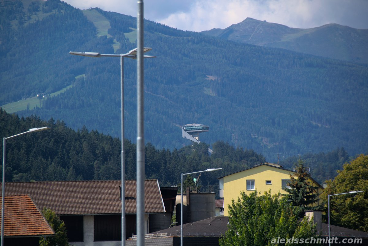 Bergisel Ski Jump in Innsbruck, Austria