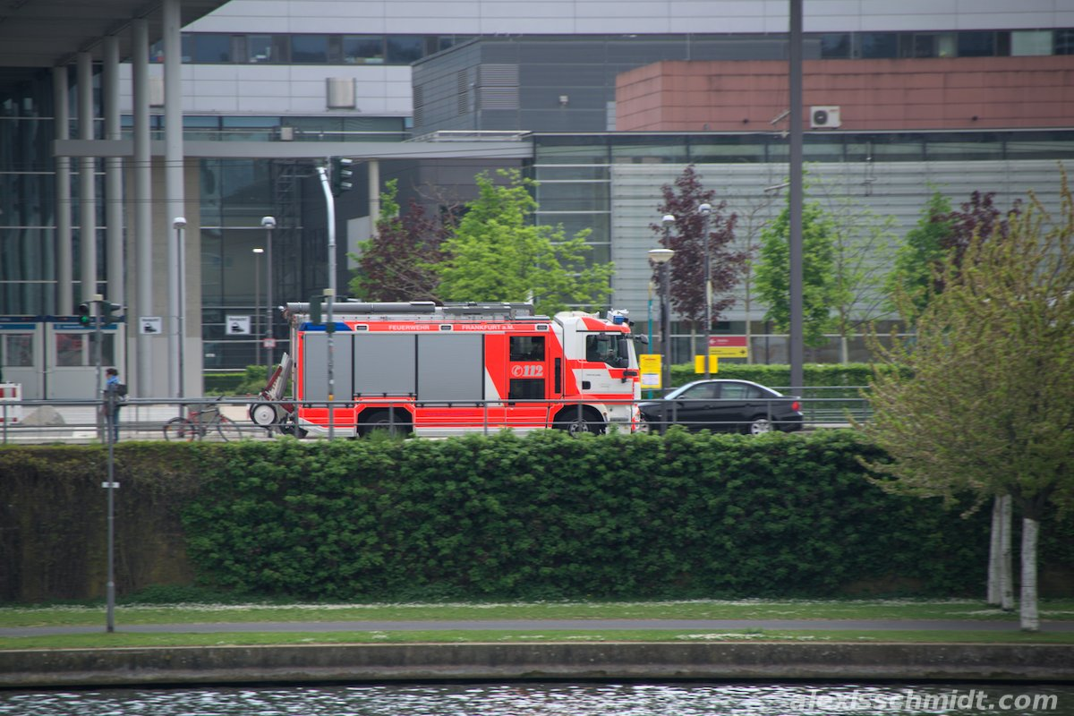 German Fire Truck in Frankfurt