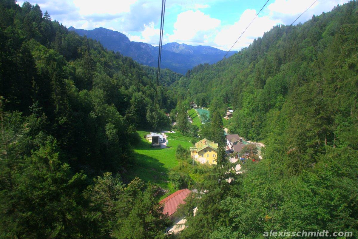 Graseckbahn Cable Car Garmisch-Partenkirchen, Germany