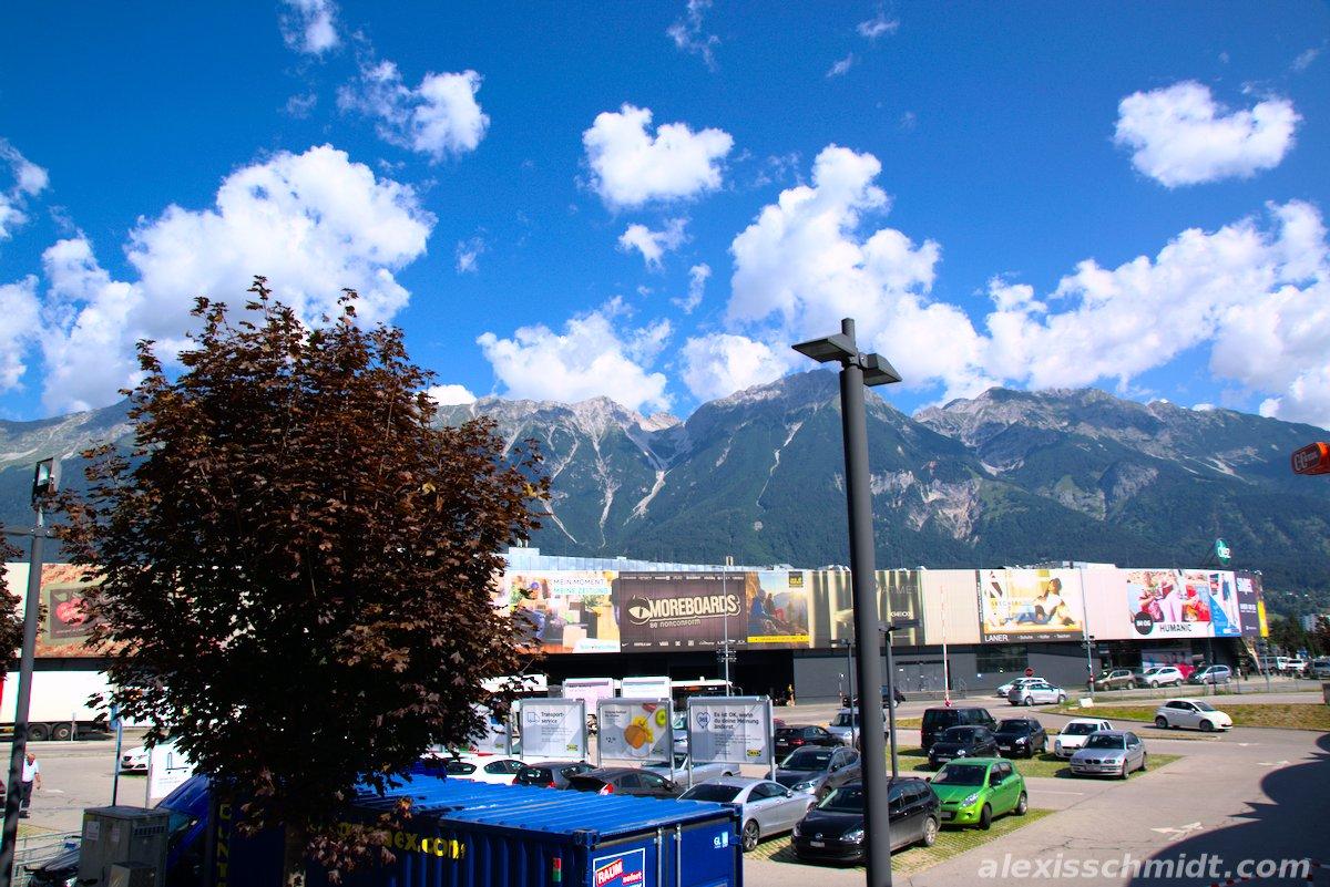 Mountains in Innsbruck, Austria