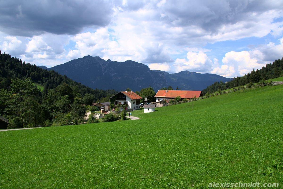 Near Kaiserschmarn-Alm Garmisch-Partenkirchen, Germany