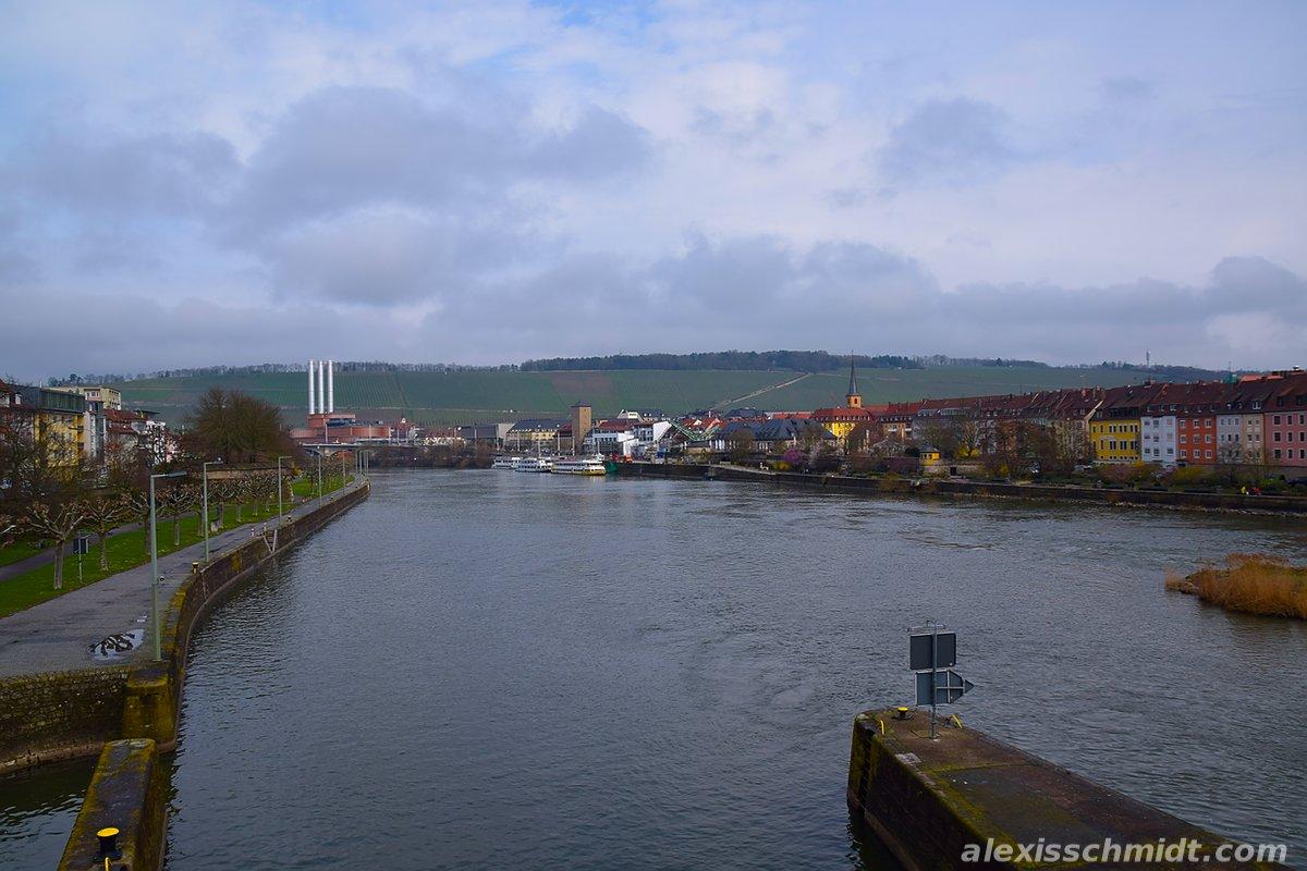 Main River in Würzburg, Germany