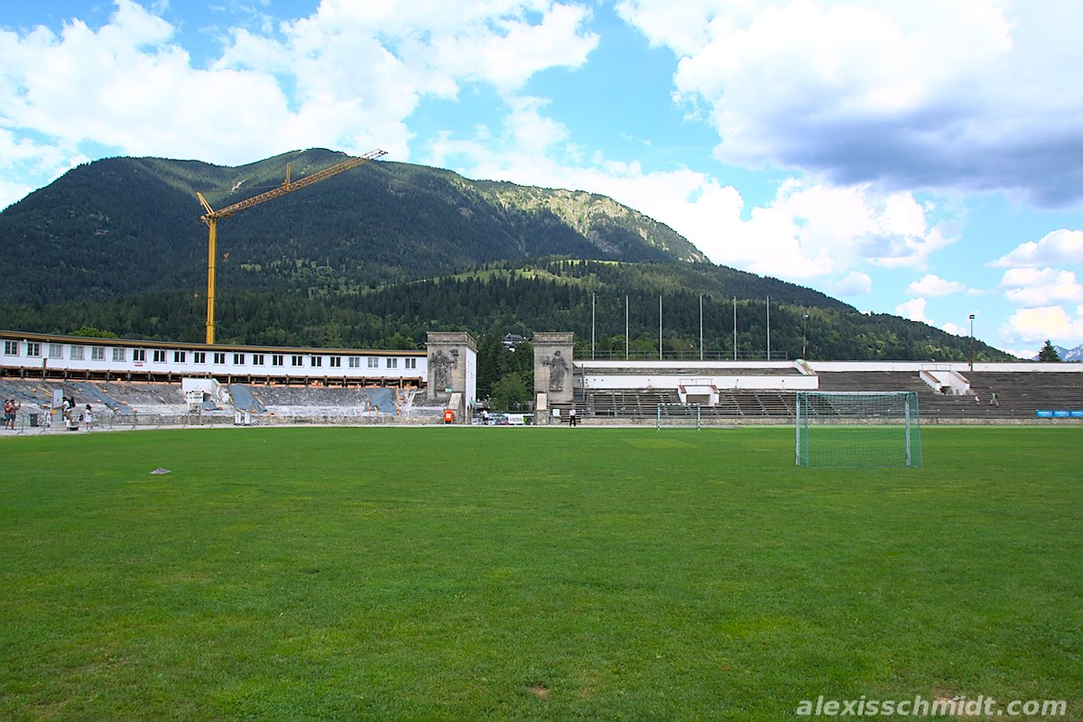 Olympia Stadium Garmisch-Partenkirchen, Germany