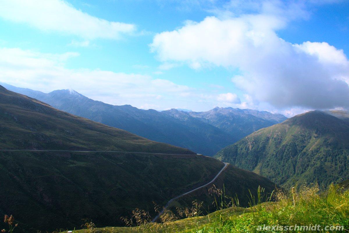 Alps Scenery from Penser Joch