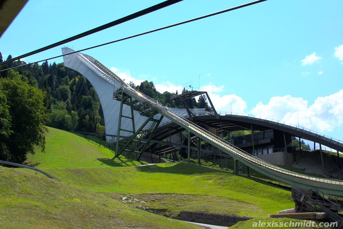 Ski Jump Garmisch-Partenkirchen, Germany