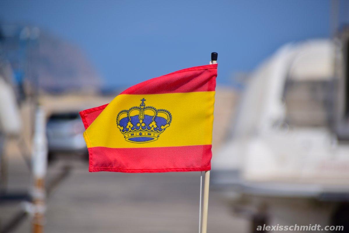 Spanish Yacht Ensign Flag