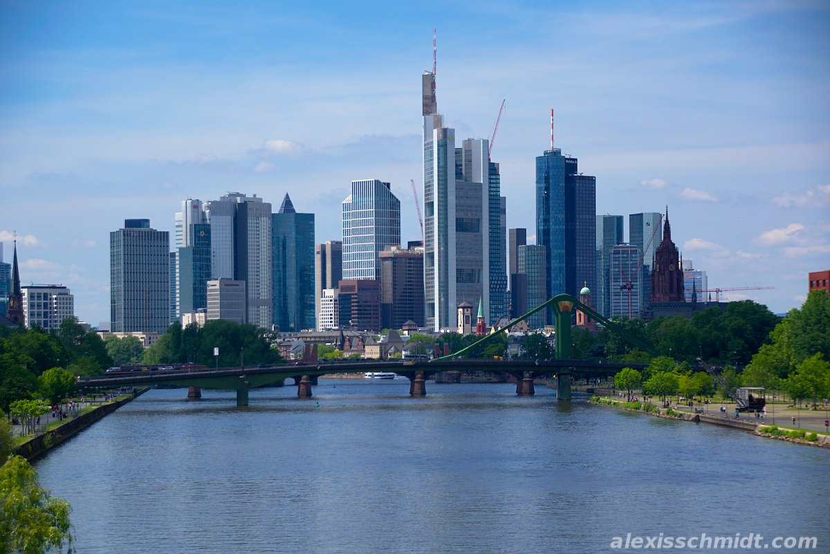 Skyline Frankfurt am Main, Germany