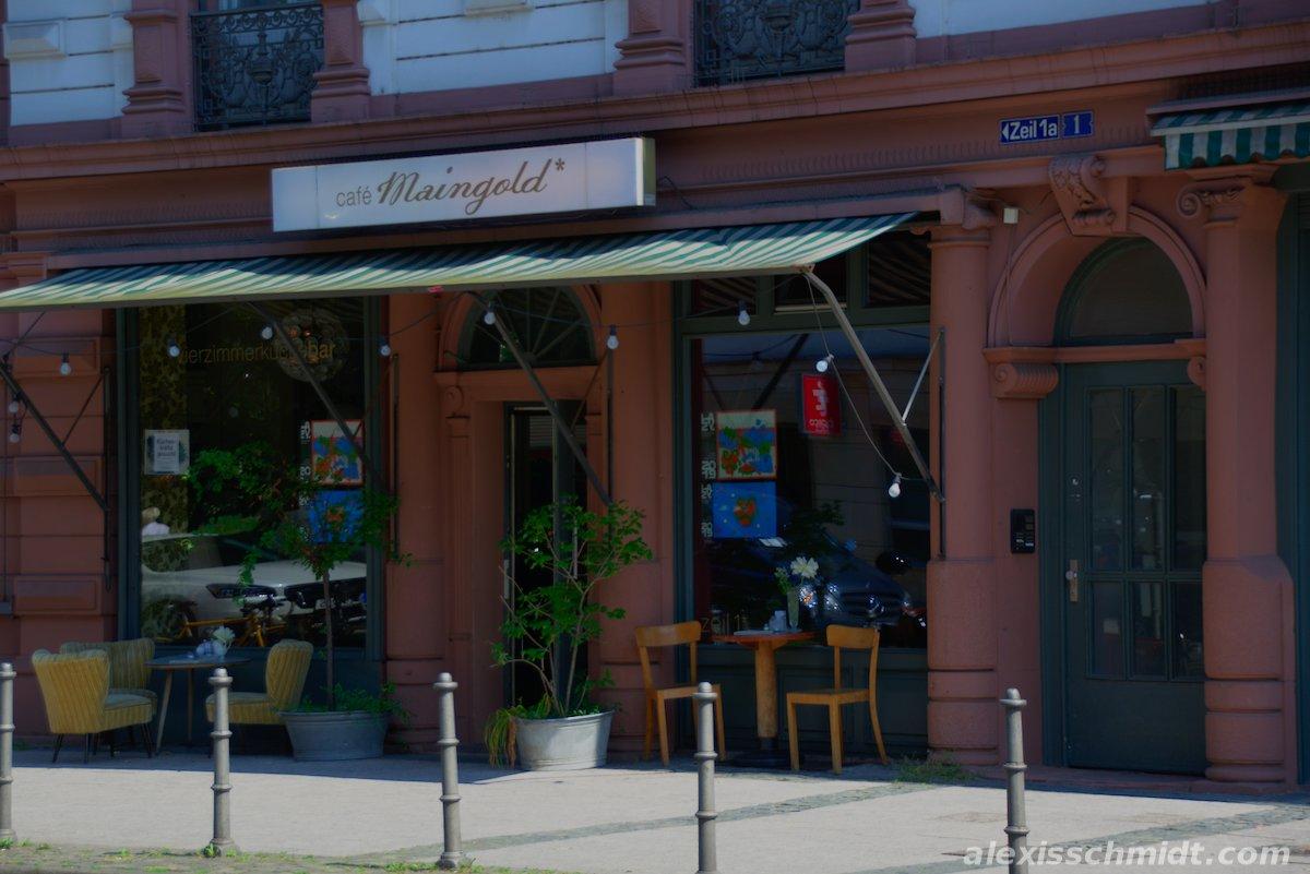 Cafe Maingold in Frankfurt am Main, Germany