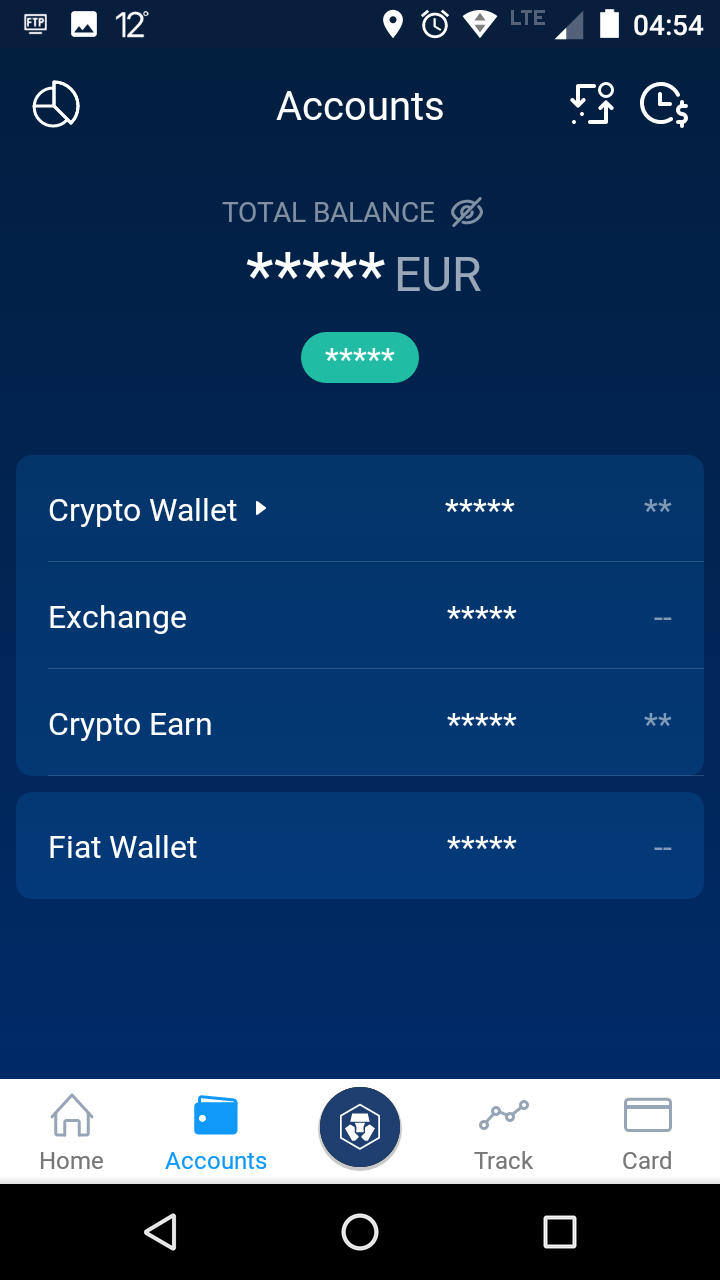 crypto.com Accounts