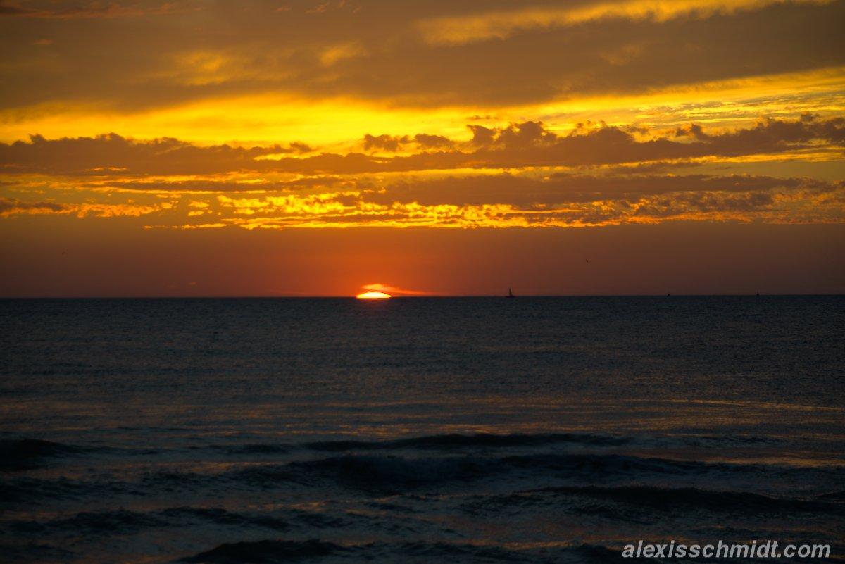 Sonnenuntergang in De Koog