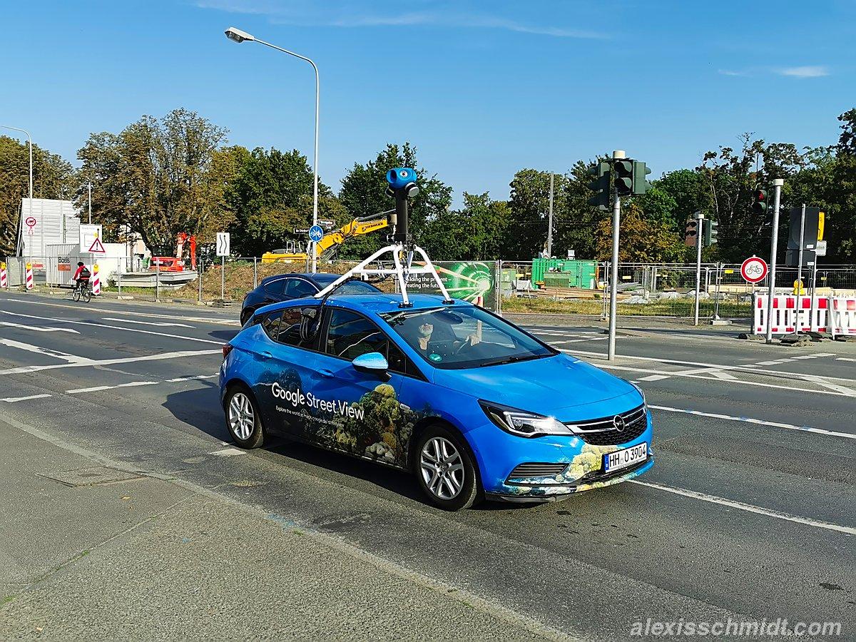 Google Street View Car gesichtet