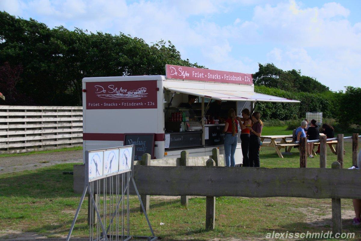 De Slufter Friet - Snacks - Frisdrank - IJs auf Texel, Niederlande