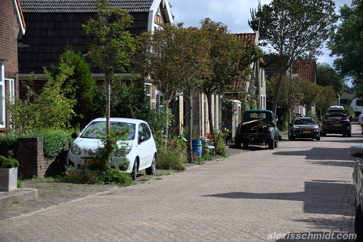 Diek in Den Hoorn, Texel, Niederlande