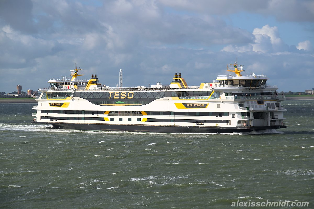 Teso Ferry from Den Burg to Texel, Netherlands